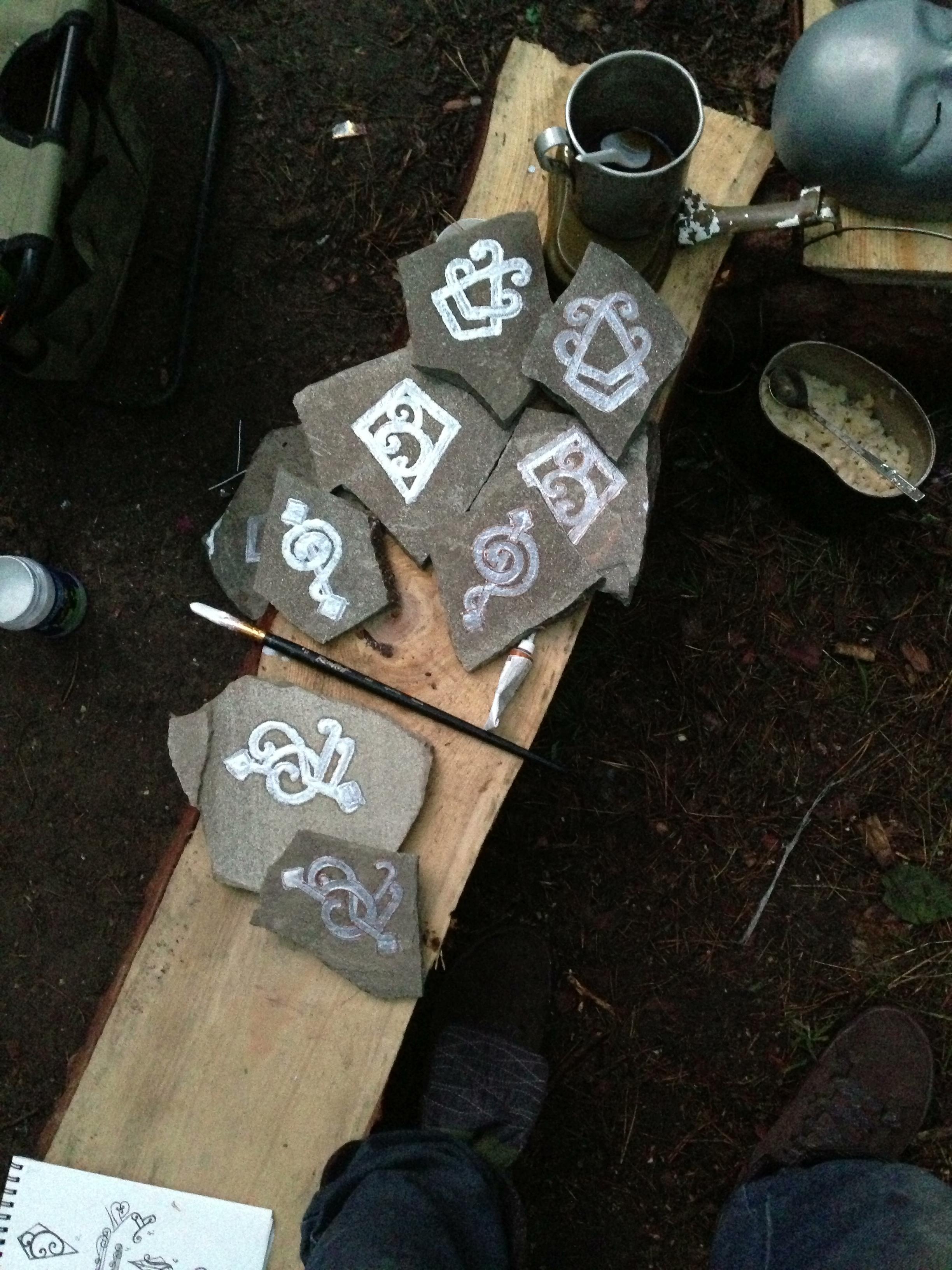 Артефакты для разбрасывания в Пустошах