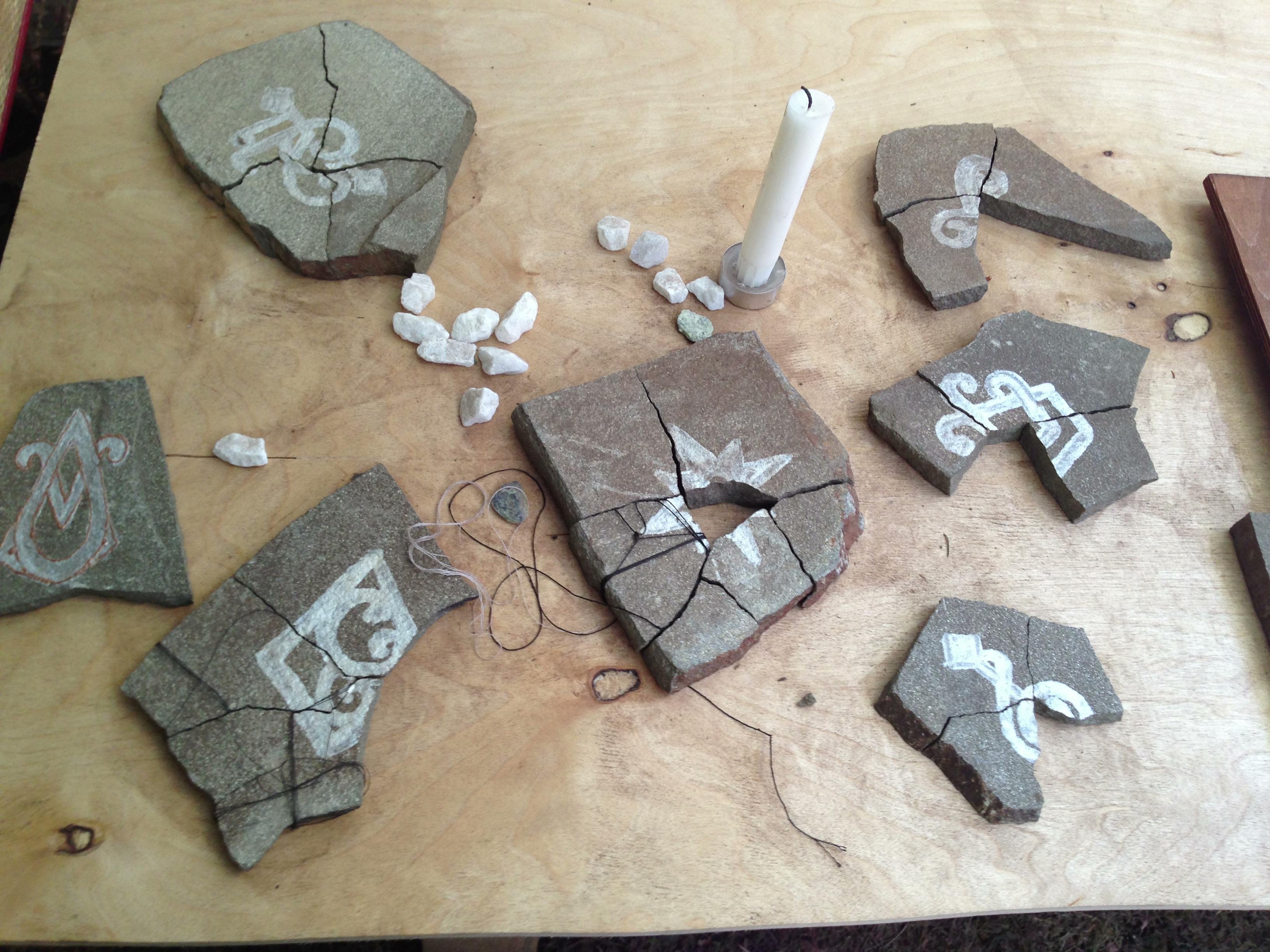 Собранные игроками осколки артефактов