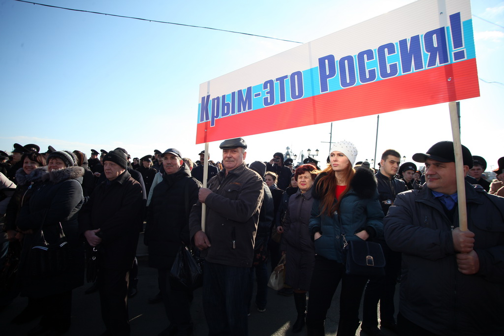 Крым сделал то, что должен был сделать Порошенко