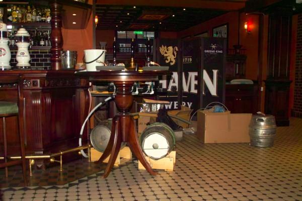 Greene King cask