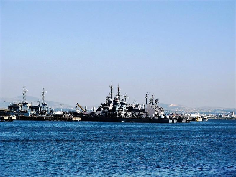 В порту Хайфы