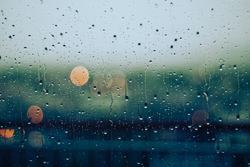 Heavy rain. Photo by Gabriele Diwald on Unsplash