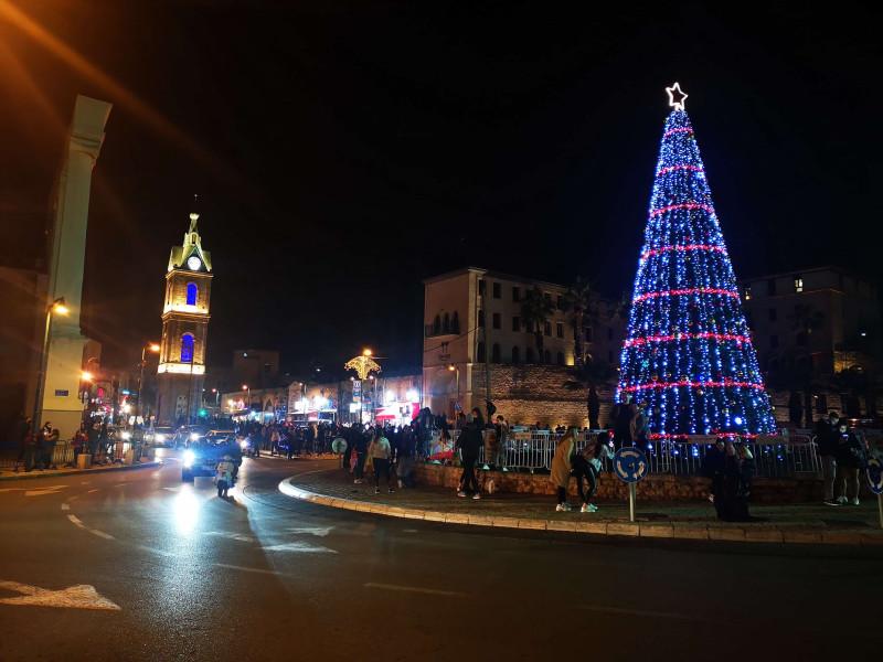 Рождество в Яффо. Фото Саши Берга