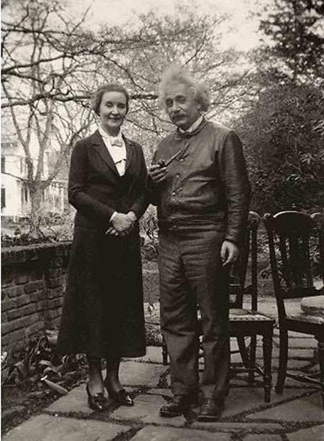 Альберт Эйнштейн  и Маргарита Коненкова