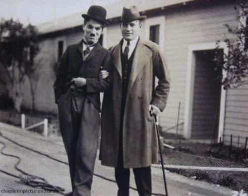 Сол Юрок и Чарли Чаплин
