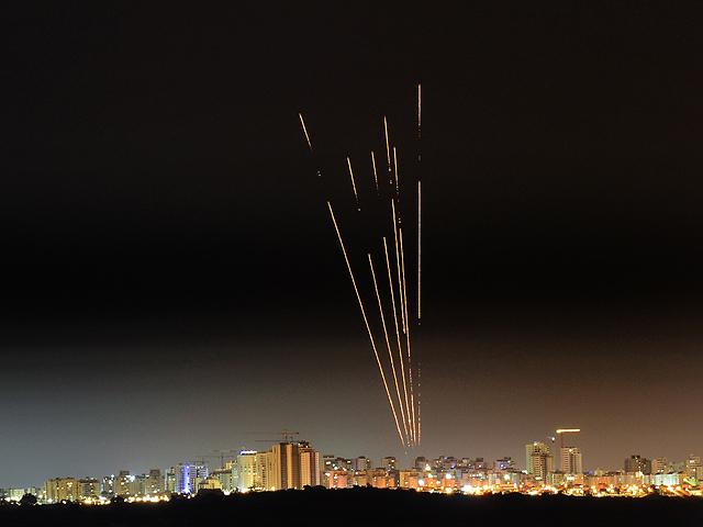 Это не фейерверк. Ракеты над Сдеротом