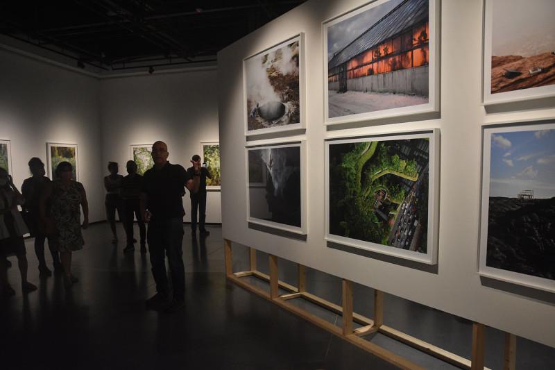 На презентации выставки. Фото Sergey Demyanchuk