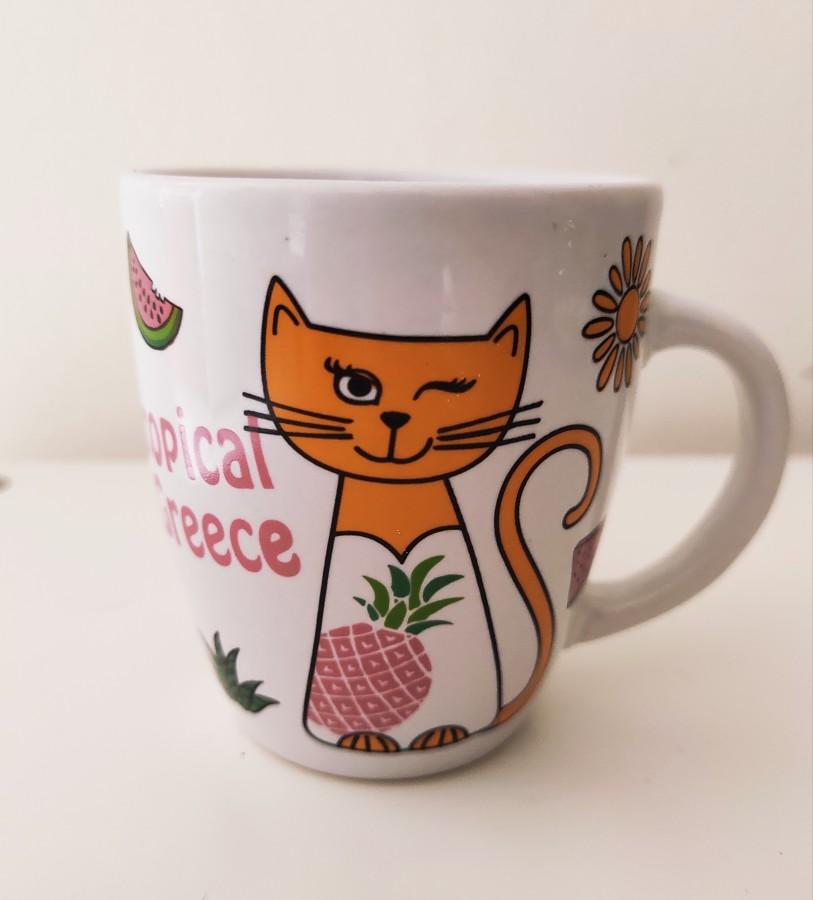 Чашка с котиком