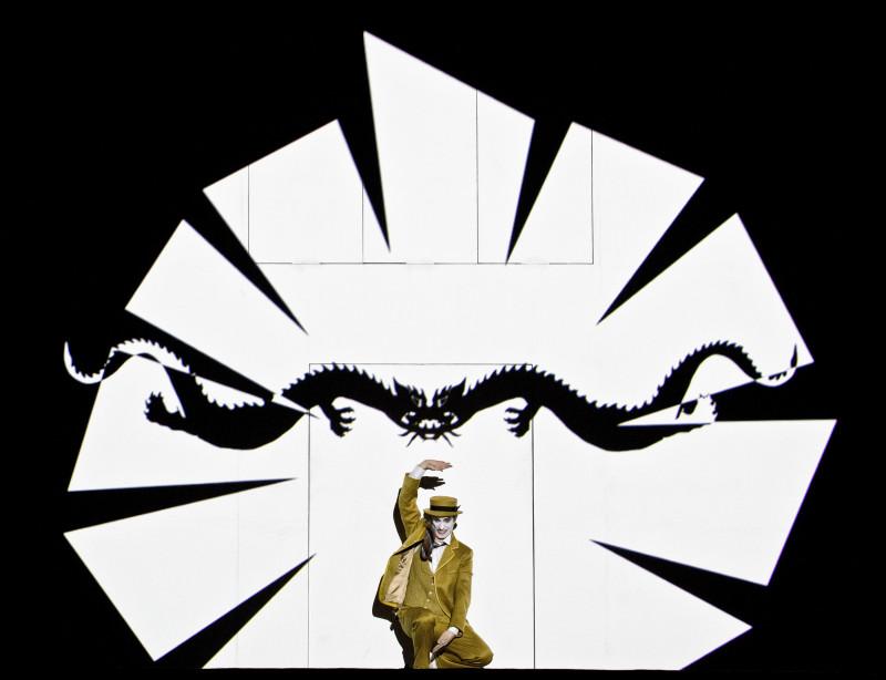 Сцена из оперы «Волшебная флейта»