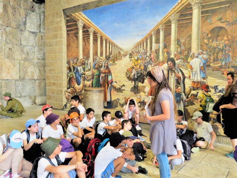 Мозаичный проект в Кардо Плаза