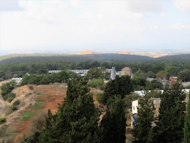 Вид с вершины башни