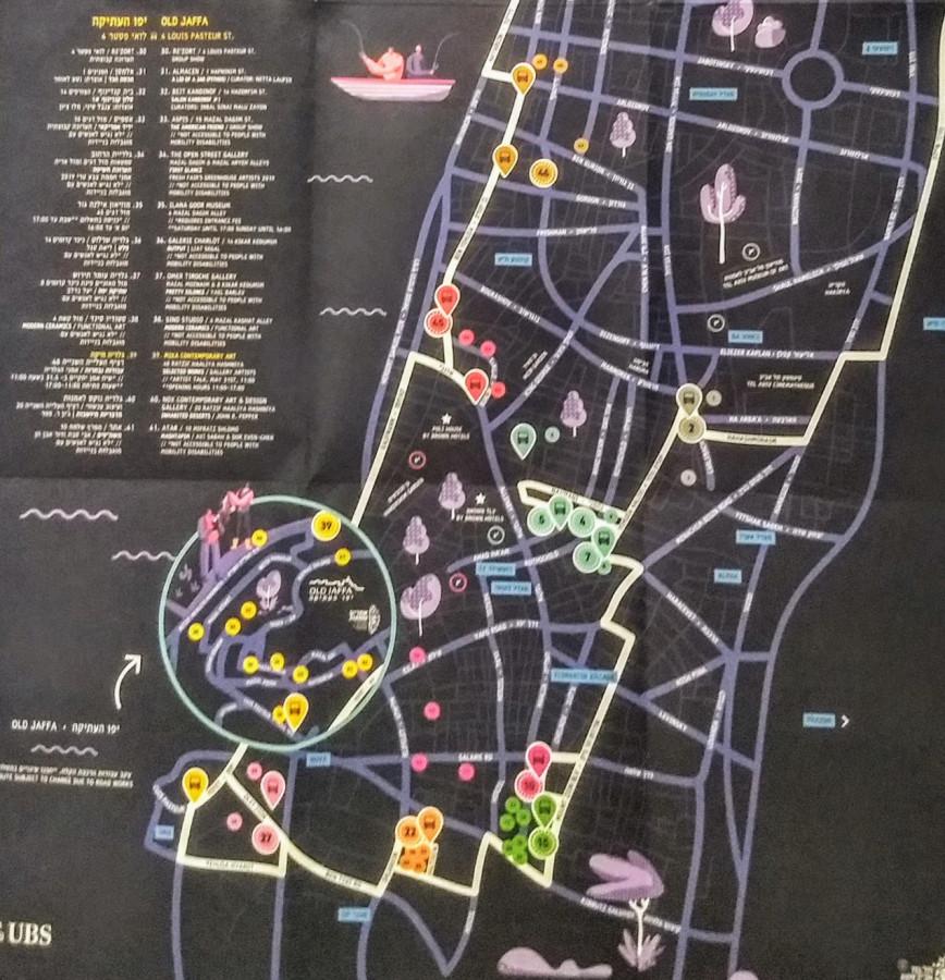 Карта движения шатлов