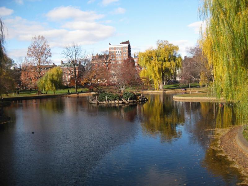 Осень в Бостоне