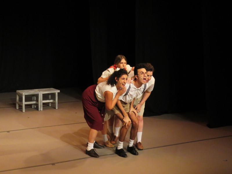 Сцена из спектакля «Рега, Рега»