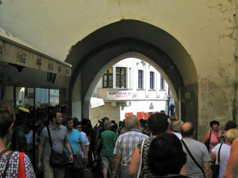 Братислава. Михалские ворота