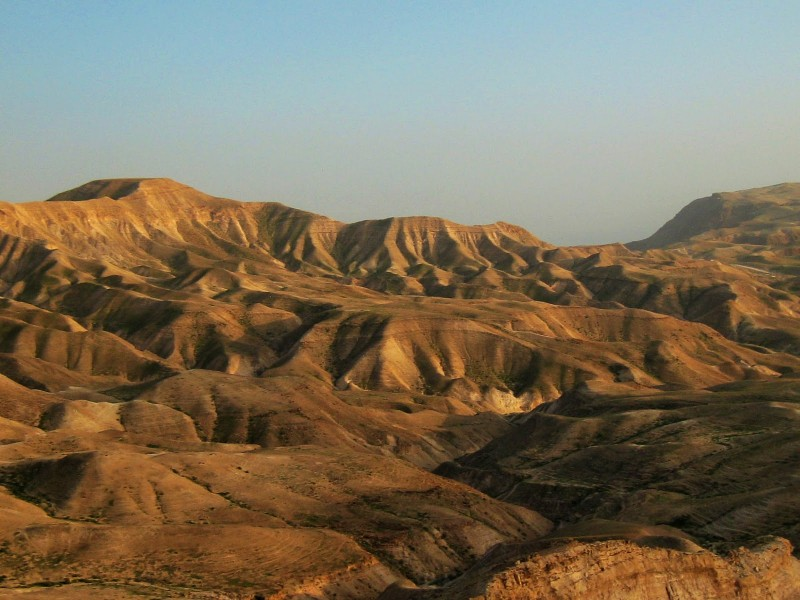 Иудейские горы. Гора Гиркания.