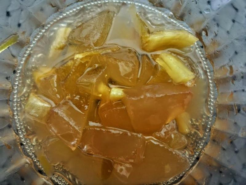яблочное варенье с имбирем и лимоном