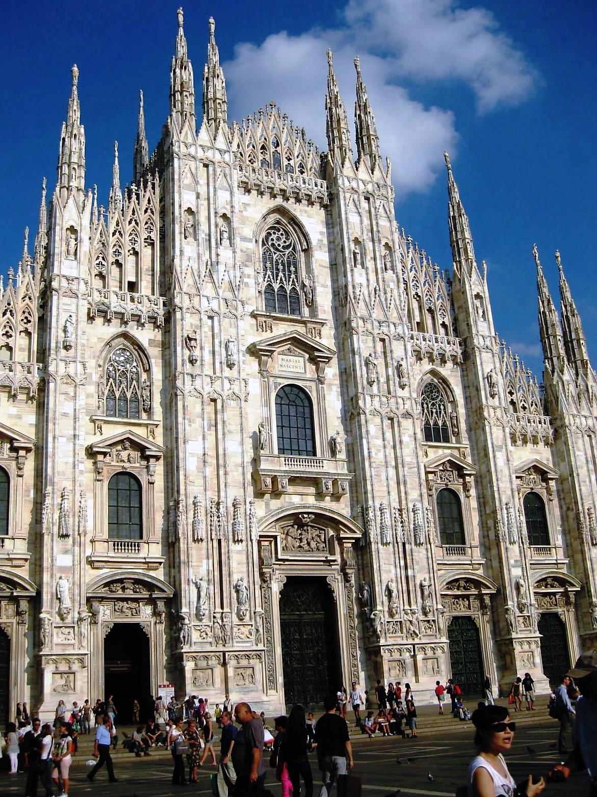 Миланский собор - самая узнаваемая достопримечательность