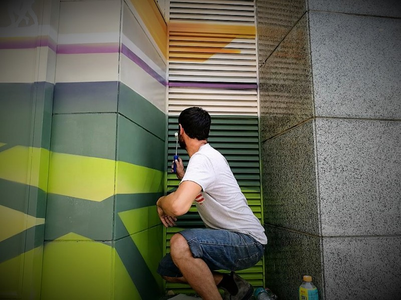 Рождение граффити