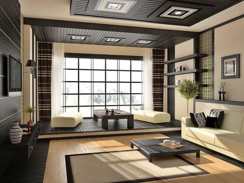 Минимализм и гармония, японский стиль в дизайне интерьера