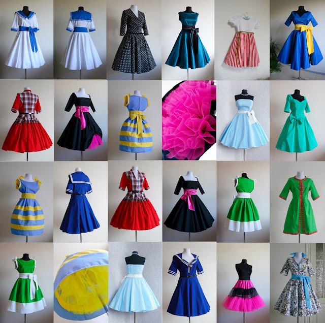 Как сшить платье стиляги