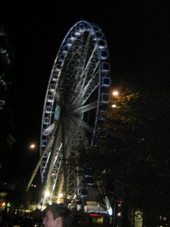 Sheffield Eye @ Night