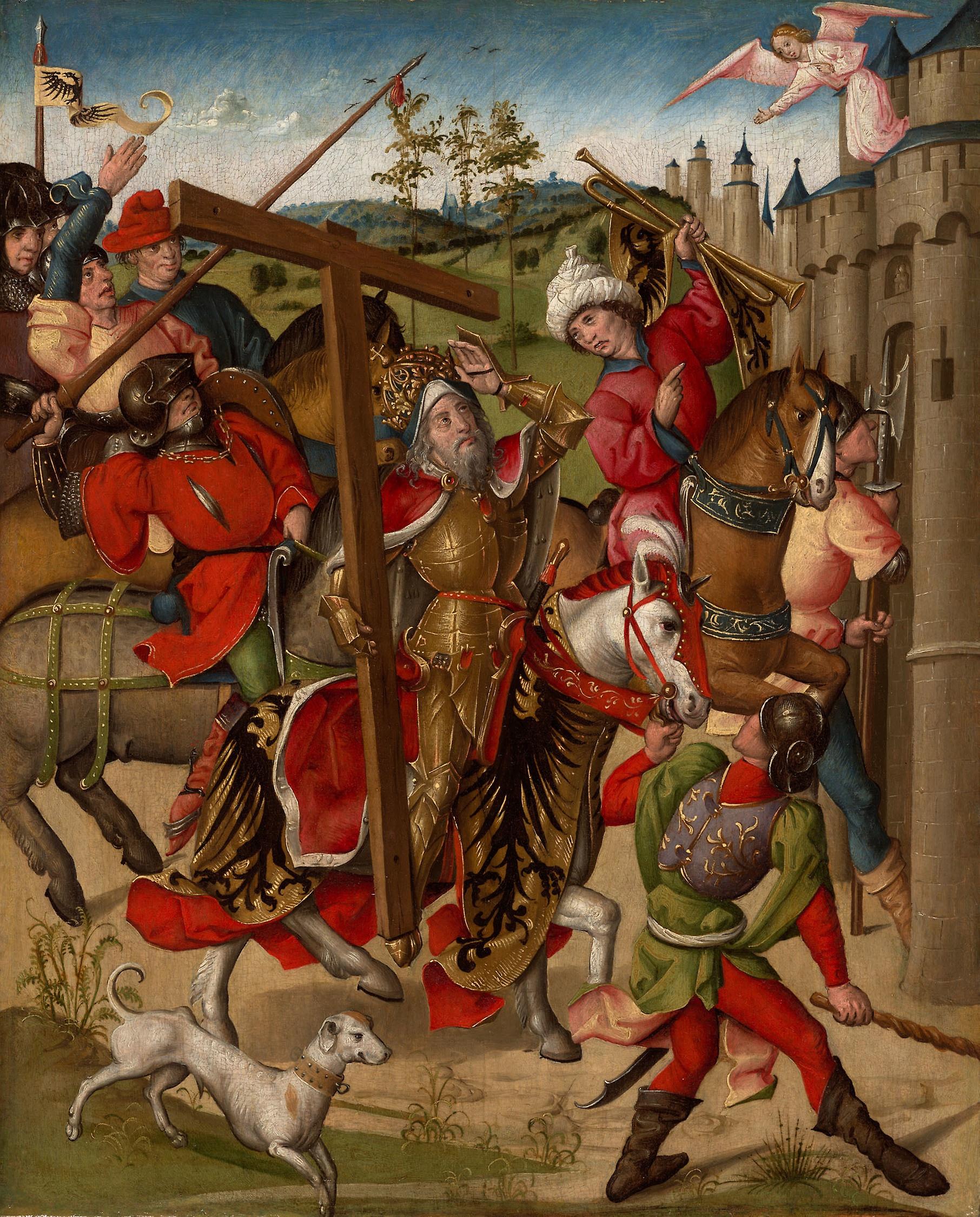 Emperor Heraclius Denied Entry into Jerusalem нид.1460-80