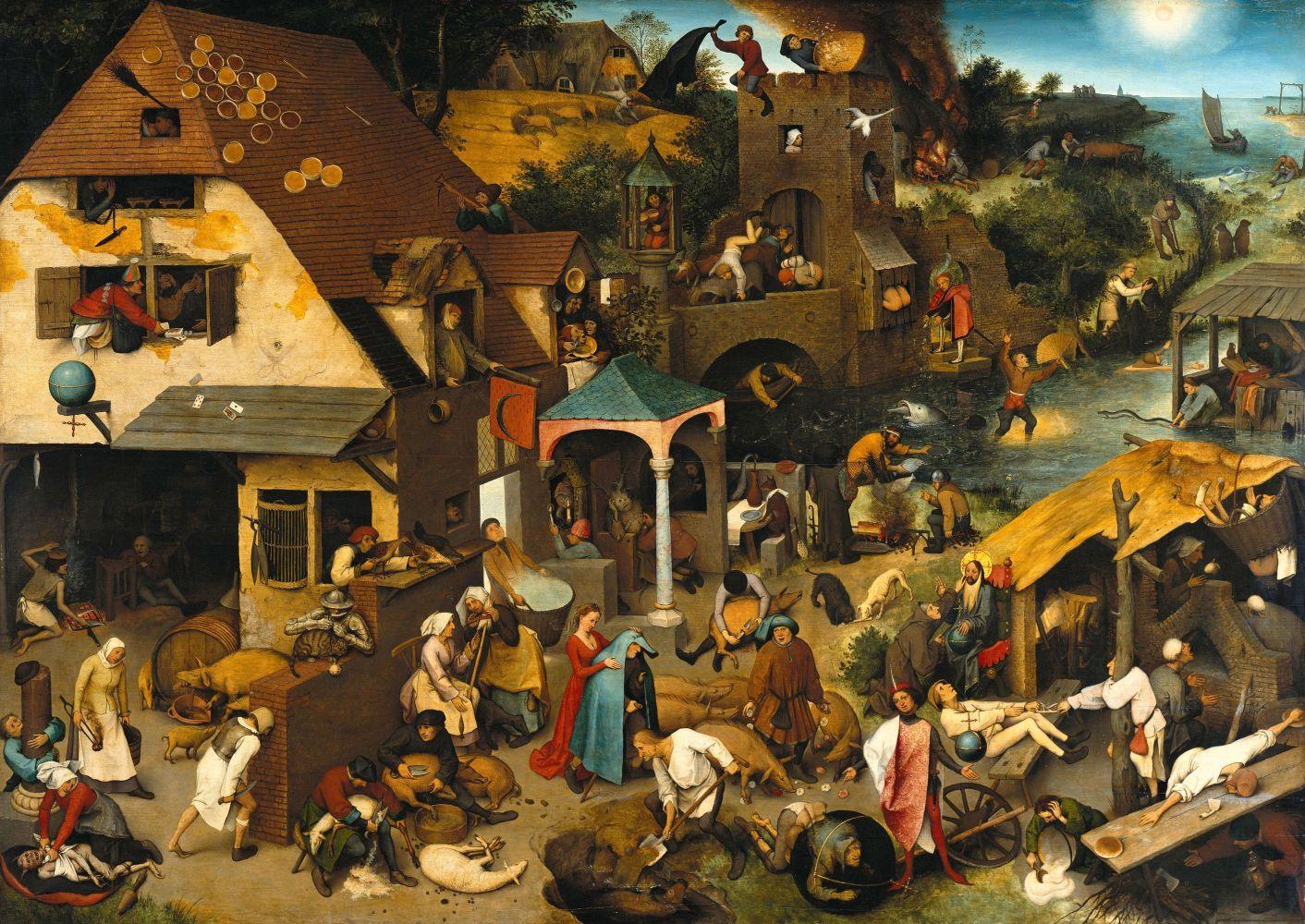 733 schilderij bruegel