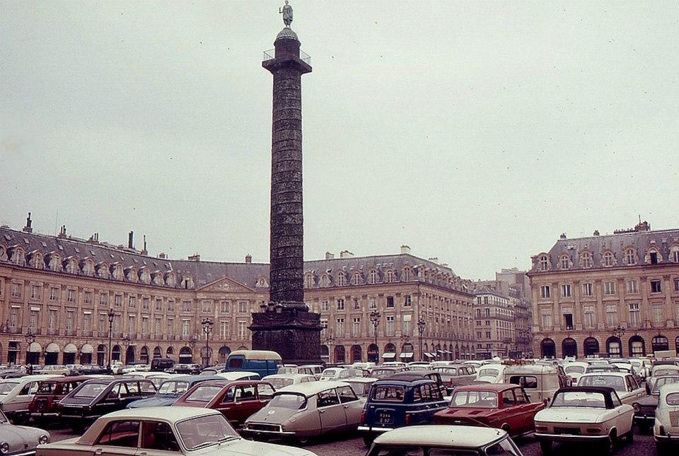 Много цветных фото парижа 60 х годов
