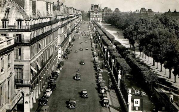 История парижской улицы Rivoli