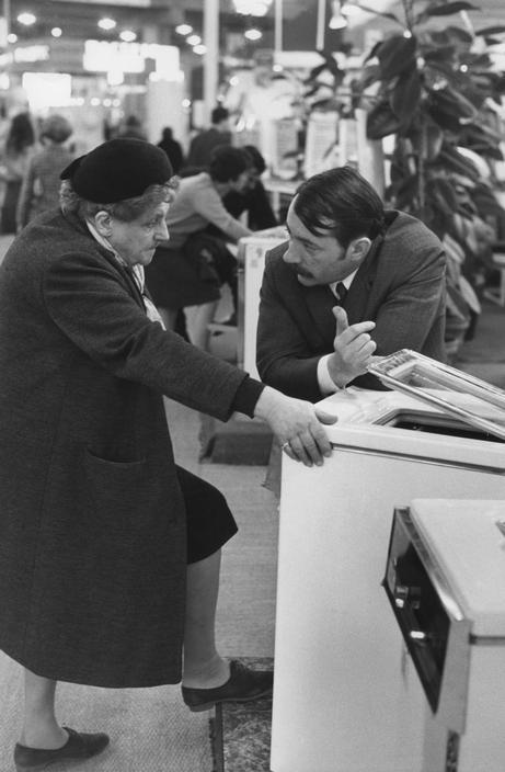 Salon des Arts Ménagers a la défense 1969