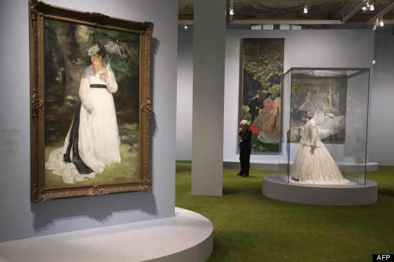 parisienne fashion and impressionism
