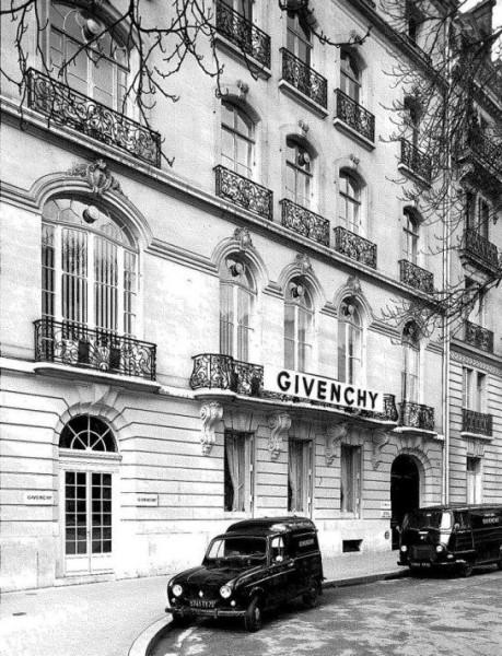 La maison Givenchy à Paris