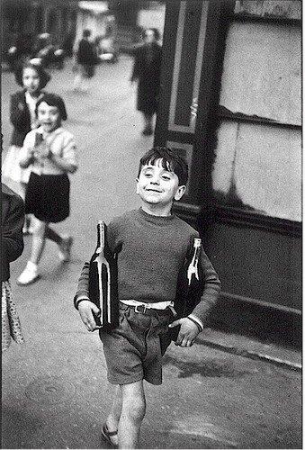 Rue-Mouffetard, Paris, 1954