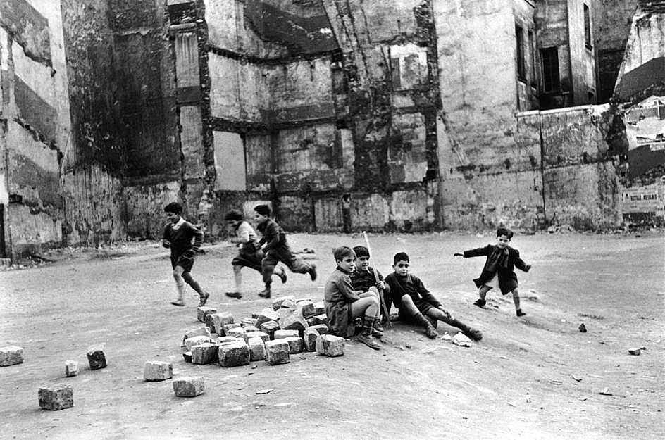 Dans le Marais, 4ème arrondissement, 1952-1953