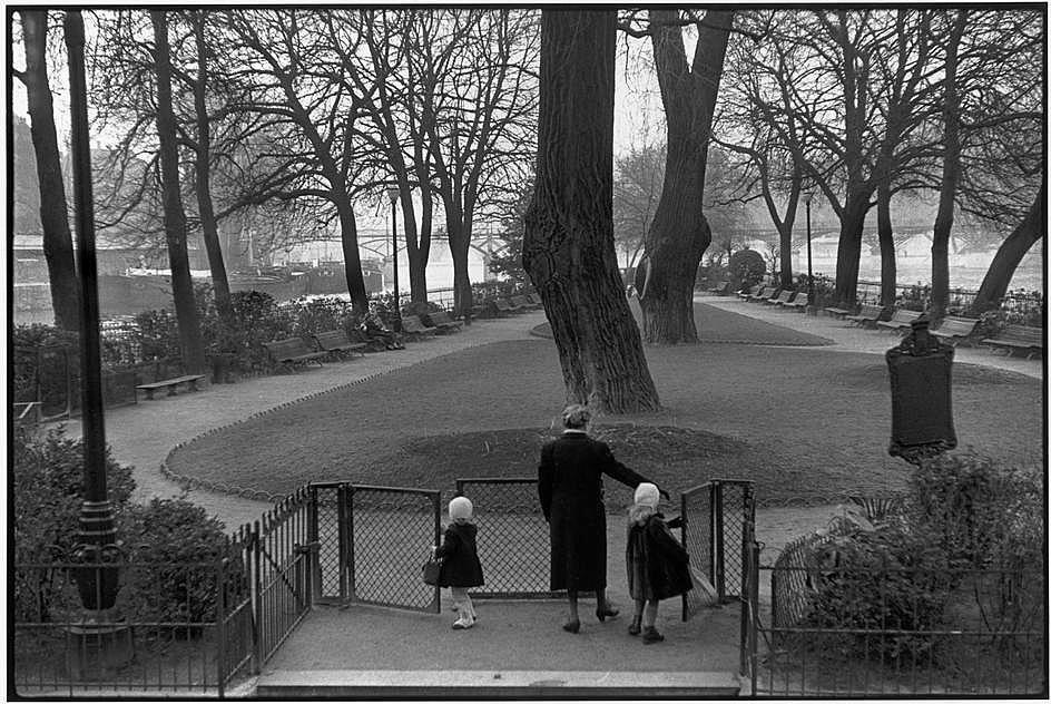 Le square du Vert-Galant, 1953