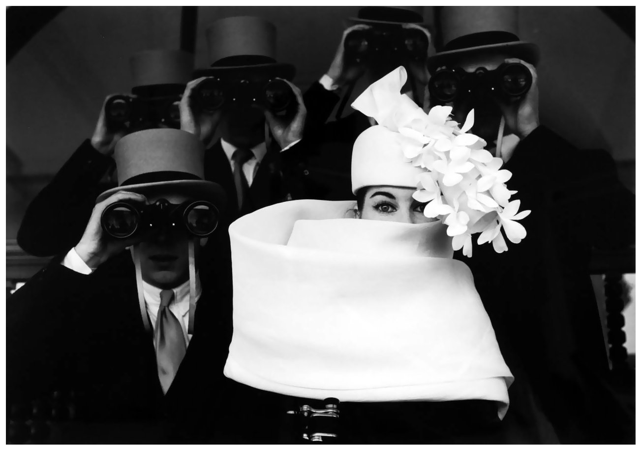 hat-by-givenchy-photo-by-frank-horvat-longchamp-racetrack-paris-1958