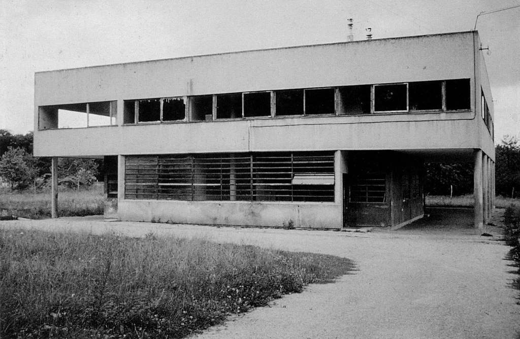 Savoye before restoration