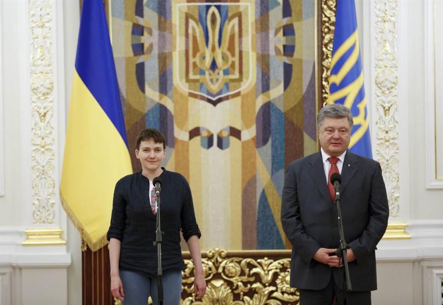 надежда савченко герой украины порошенко Кемеровская область предоставляется