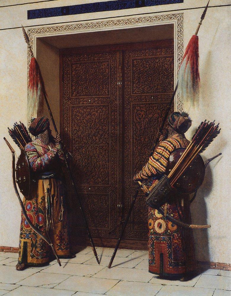 Василий Верещагин » Живопись, картины, фото художника » Двери хана Тамерлана (Тимура), 1875