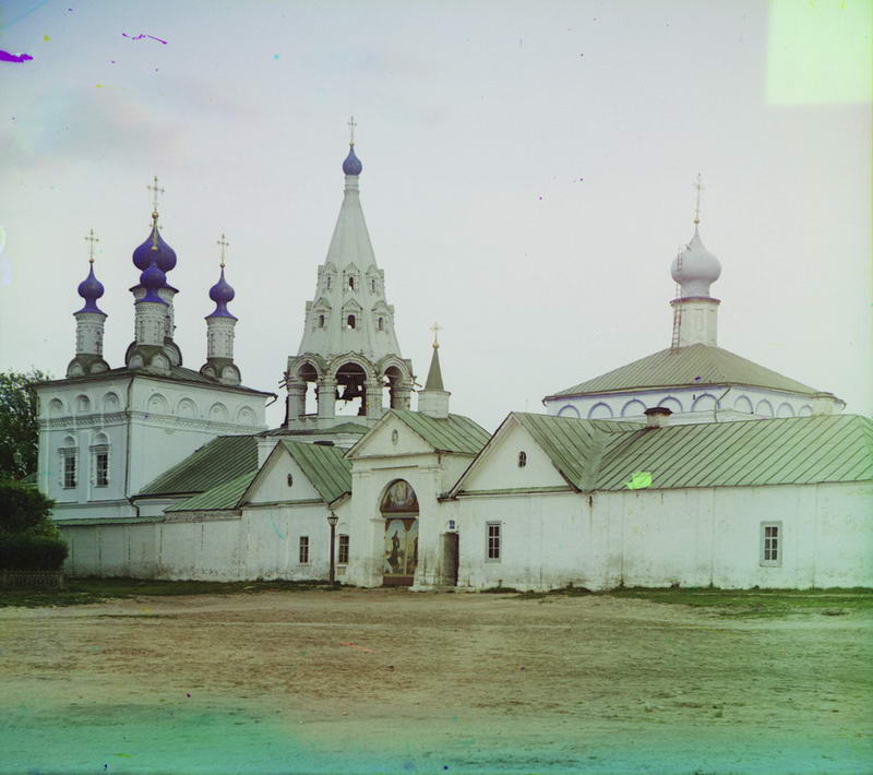 1912 Вход в Спасский монастырь