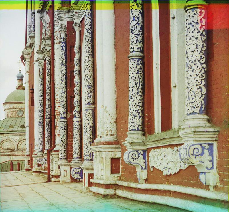 1912 Деталь стены Успенского собора