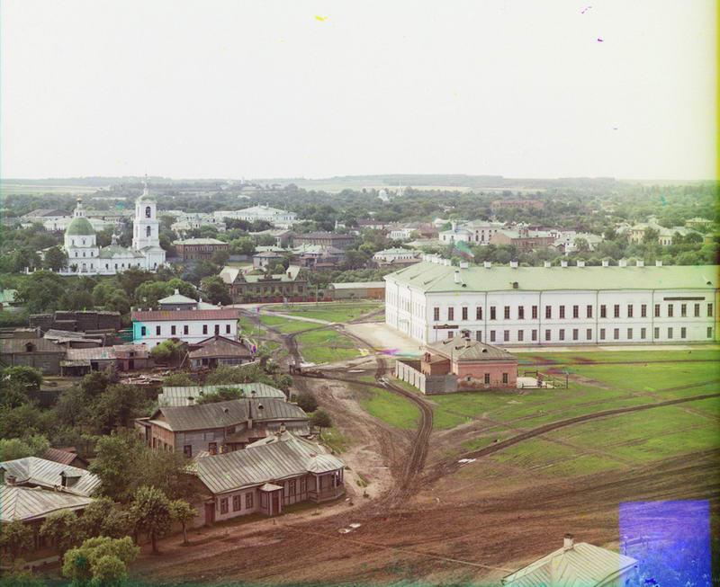 1912 Общий вид города с севера