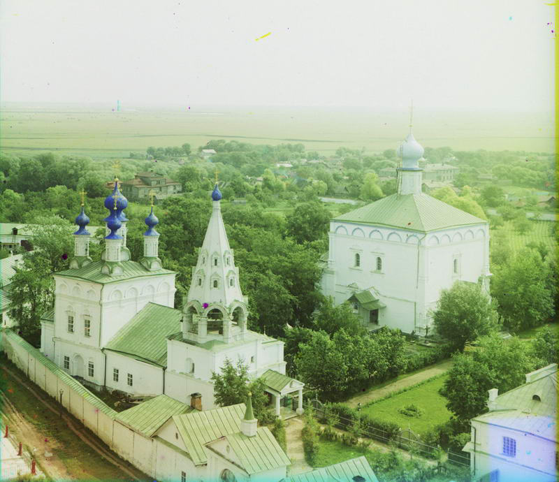 1912 Спасский монастырь с северо-запада