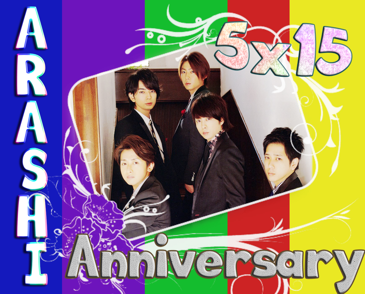 arashi 15 anniversary