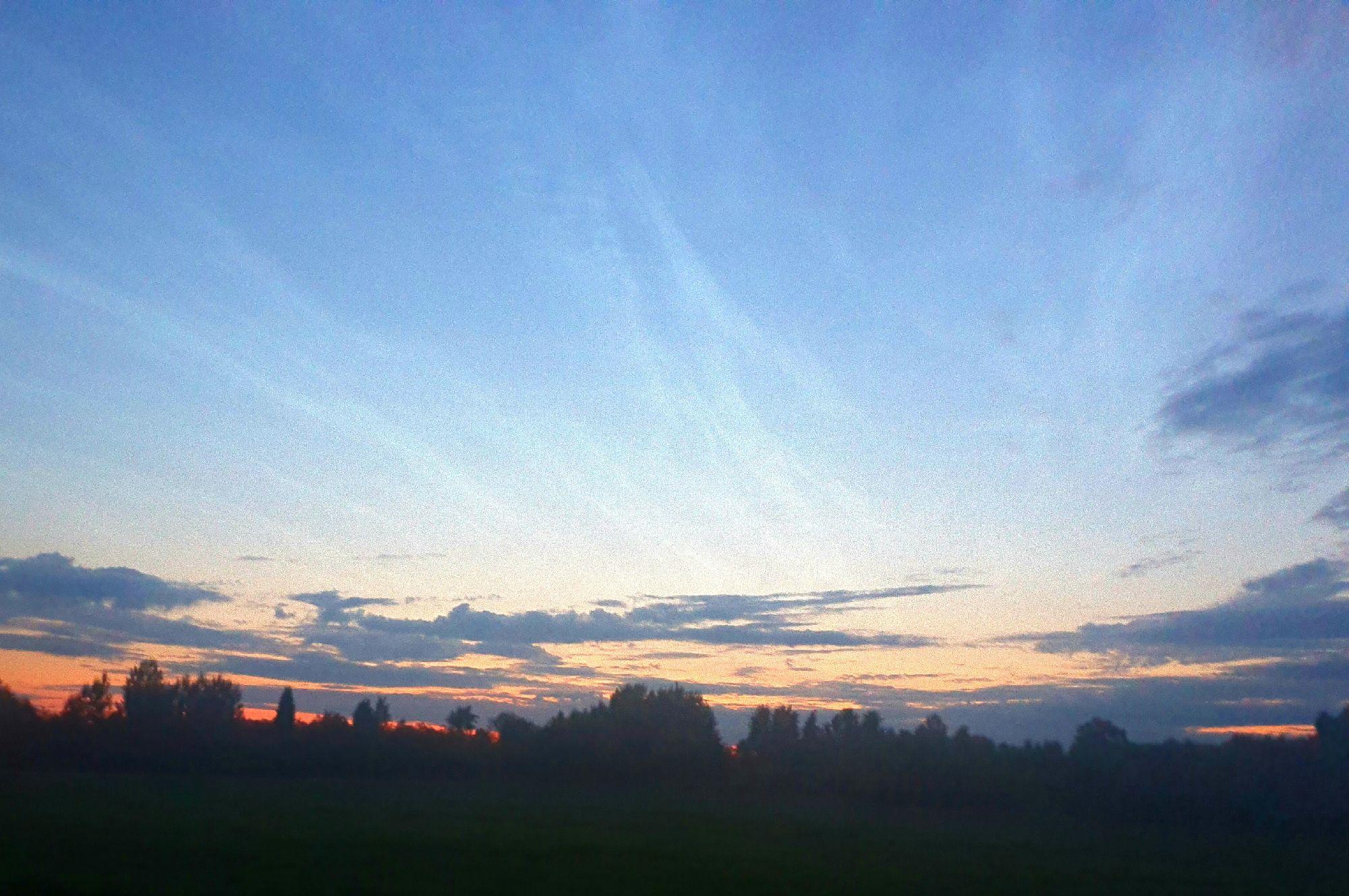 Солнце встаёт. Время 1:13