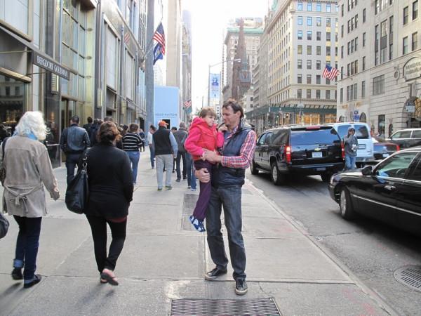 улица в Нью Йорке