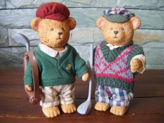 Golfing Bears