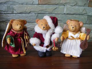 Santa and his Angels