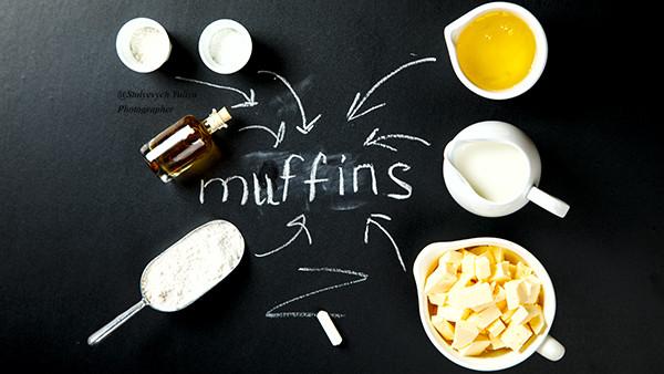 Маффины на белках